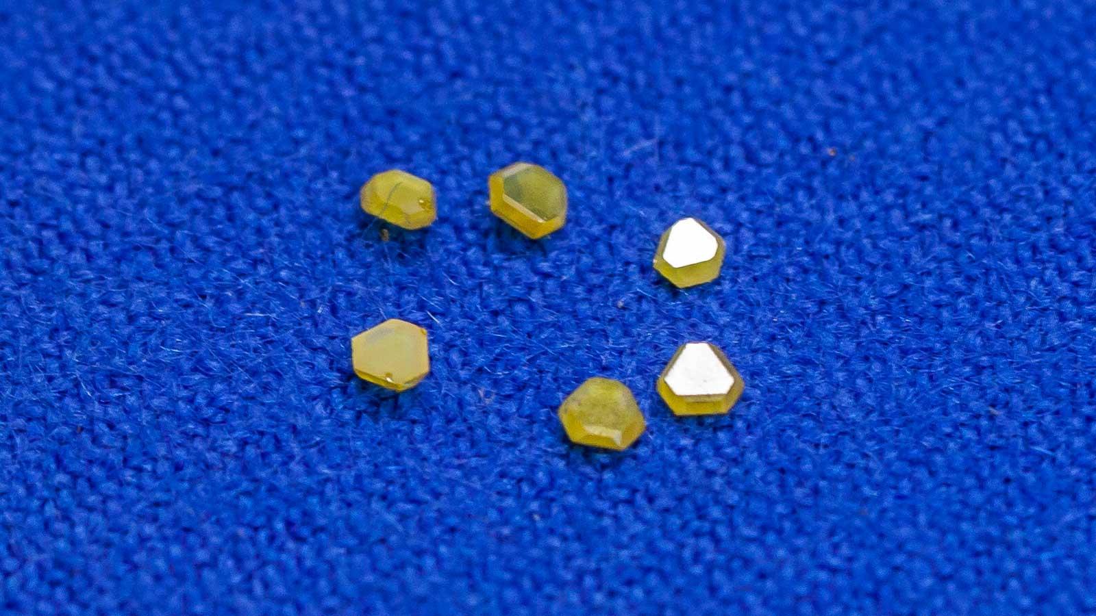 Gardella srl - Componenti in diamante - materiali